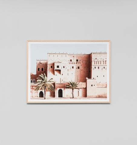 DESERT ARCHITECTURE FRAMED ARTWORK