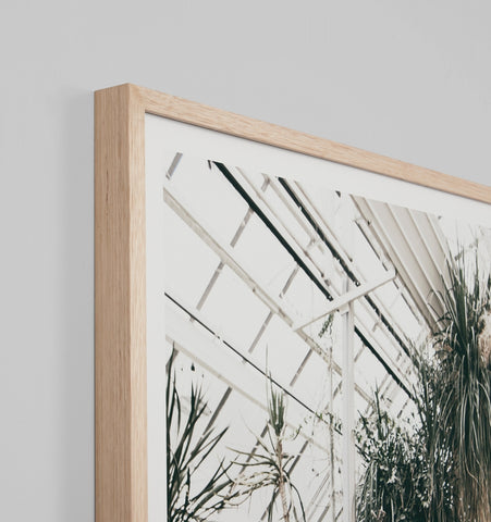 DESERT GLASSHOUSE FRAMED ARTWORK