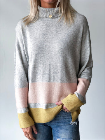 CHILL ROLL NECK KNIT JUMPER