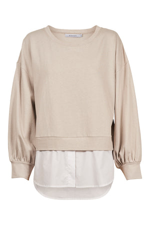 CABO SWEATER - ALMOND