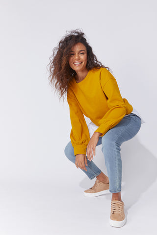 CABO SWEATER - AMBER