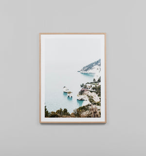ITALIAN COVE FRAMED ARTWORK