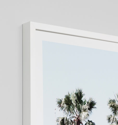 LA PALMS FRAMED ARTWORK