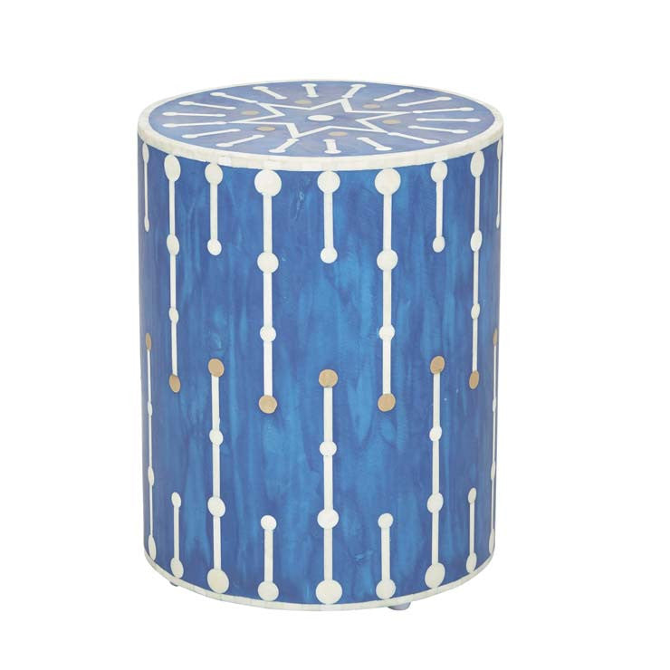 TAJ BONE DOT SIDE TABLE