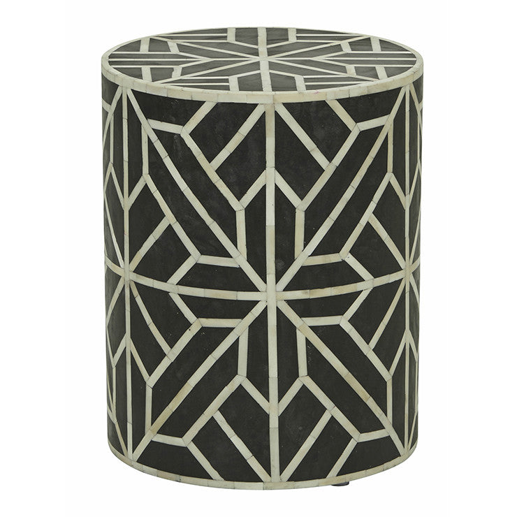 TAJ GEOMETRIC SIDE TABLE