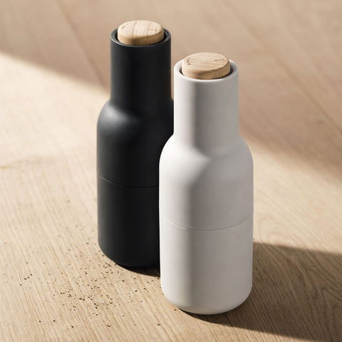 SALT & PEPPER GRINDERS ASH CARBON