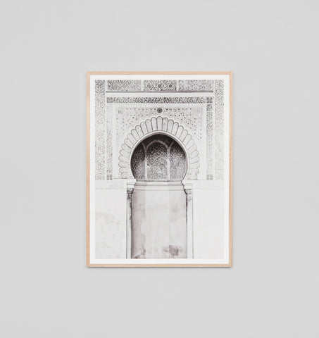 MOROCCAN ARCH NEUTRAL FRAMED ARTWORK