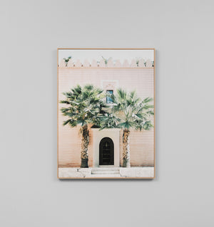 MOROCCAN ENTRANCE - FRAMED CANVAS PRINT