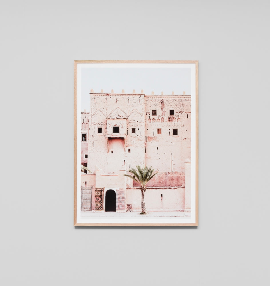 MOROCAN TOWER FRAMED ARTWORK