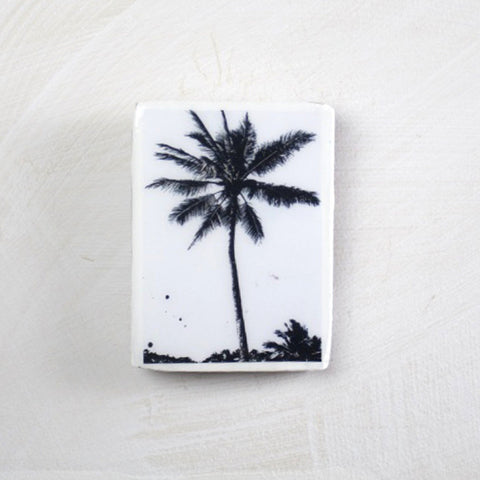 SINGLE PALM MINI TILE