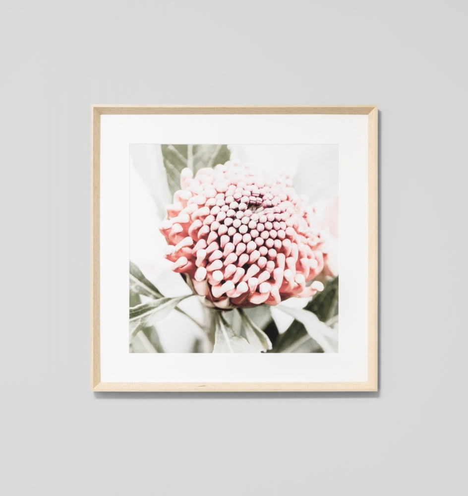 NATIVE FLORAL 2 FRAMED ARTWORK