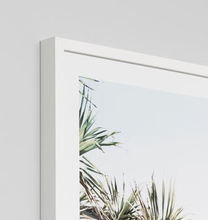 NORTHERN BEACH FRAMED ARTWORK
