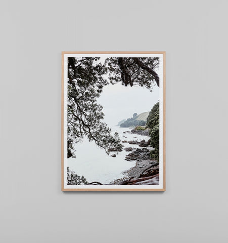 NORTHERN SHORE FRAMED ARTWORK