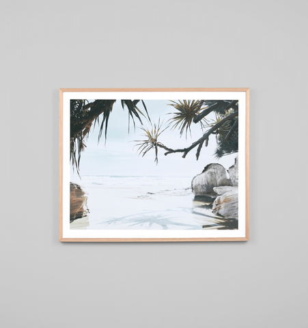 PARADISE VIEW FRAMED ARTWORK