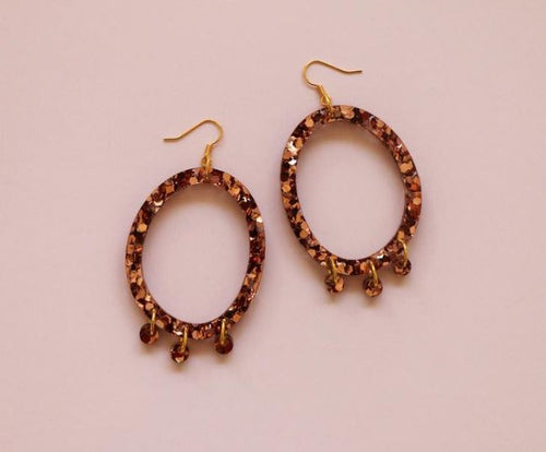 MURPHY MADE POPPY EARRINGS- Copper