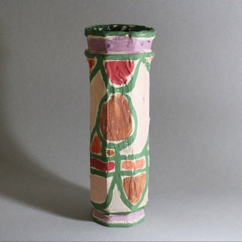 COLUMN VASE - ANCIENT LANDSCAPE