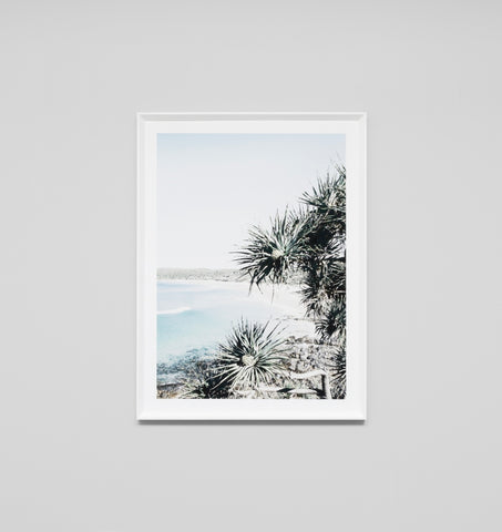 SUNNY BAY FRAMED ARTWORK