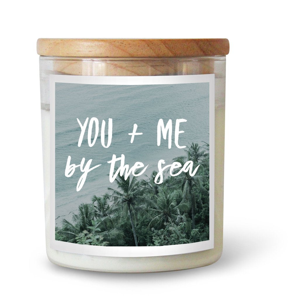 YOU & ME BY THE SEA SOY CANDLE