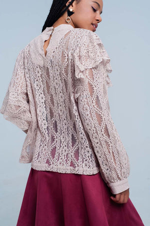 Buy Lacy Shirt and Ruffles