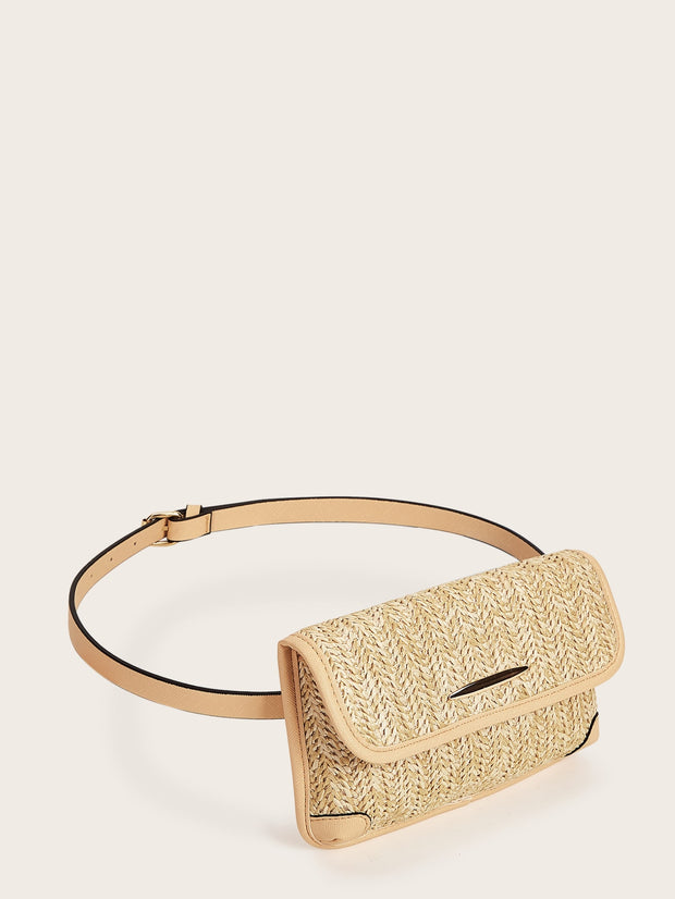 Straw Fanny Pack