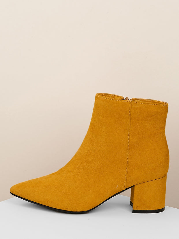 Buy women's Pointy Toe Chunky Heel Booties available at very affordable prices. Enjoy free shipping and free returns on selected orders. Place yours now.