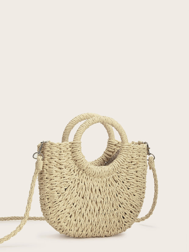 Straw Plaited Bag
