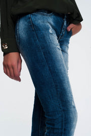Slim Fit Jeans in Light Aged