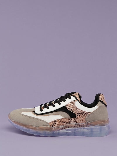 Buy women's Snakeskin Lace Front Two Toned Trainer Sneakers available at very affordable prices. Enjoy free shipping and free returns on selected orders. Place yours now.