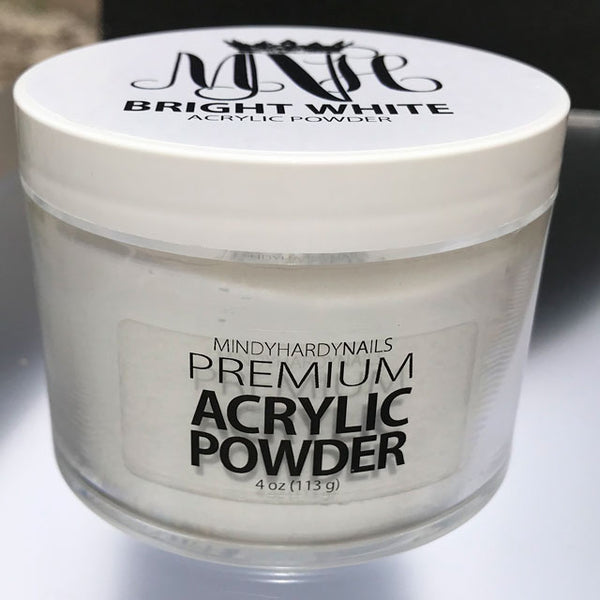 Bright White Acrylic Powder 4oz