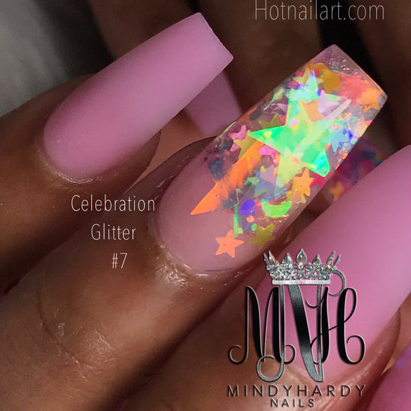 Celebration Glitter #007 - HOTNAILART