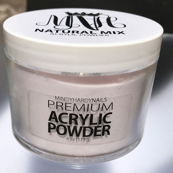 Natural Mix Acrylic Powder 4oz