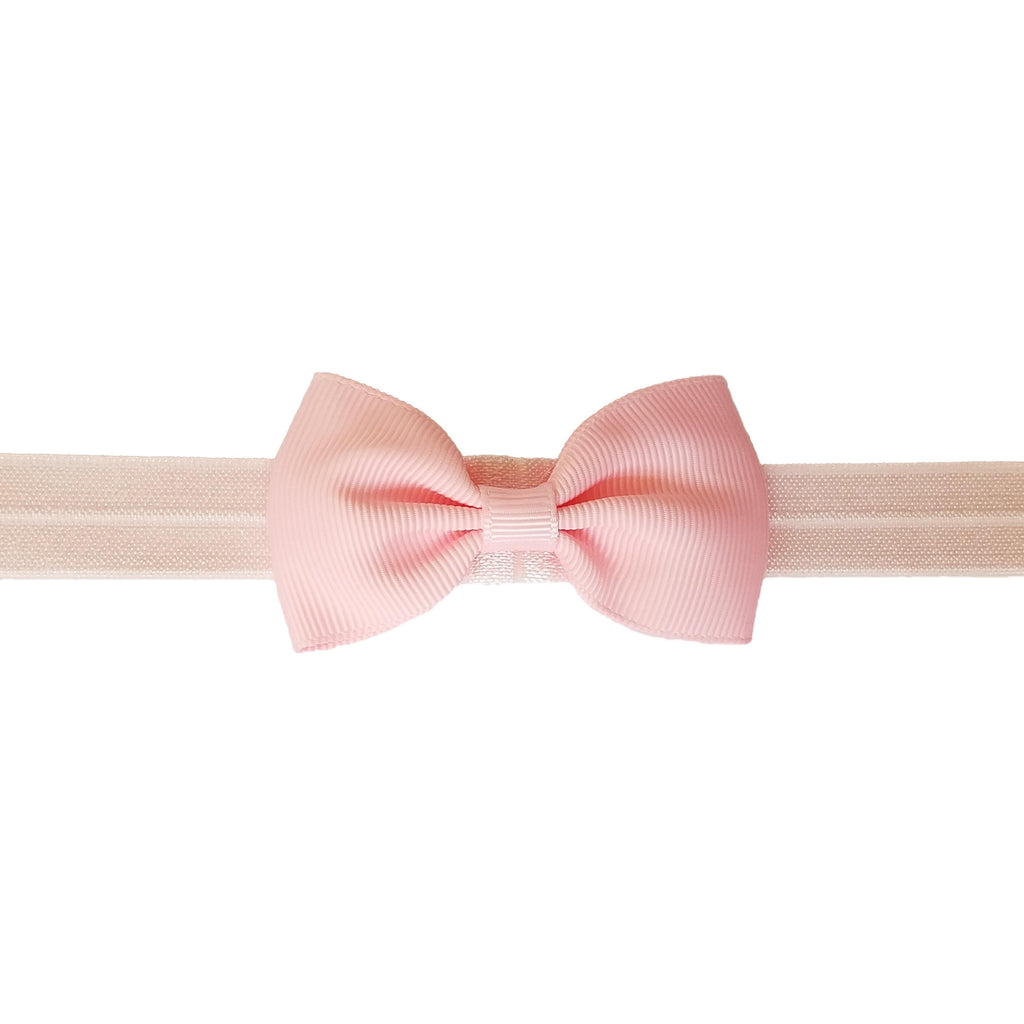 "2.5"", grosgrain, headband,light pink"