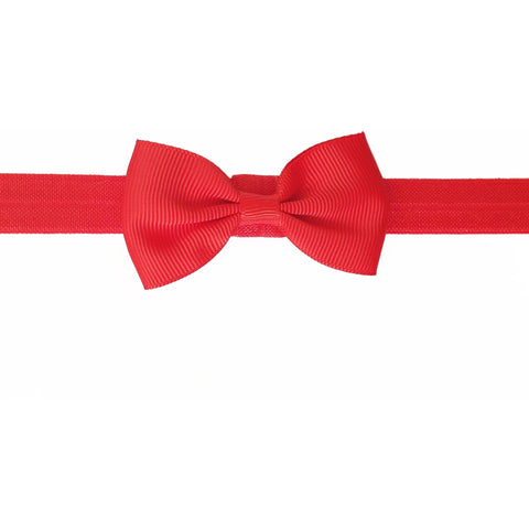 "2.5"", grosgrain, headband,red"