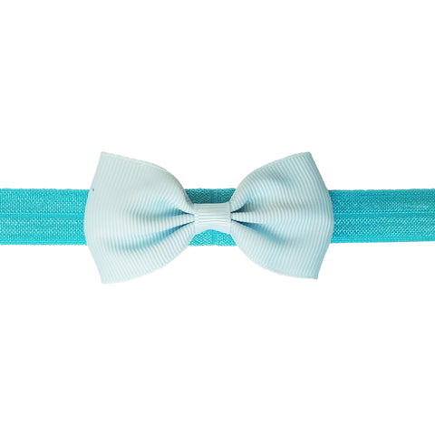 "2.5"", grosgrain, headband,light blue"