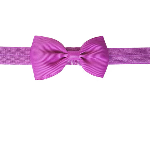 "2.5"", grosgrain, headband,magenta, purple"