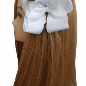 "Large 6"" Grosgrain Hair Bows"
