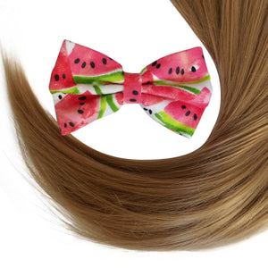 "4"" Watermelon Hair Bow"