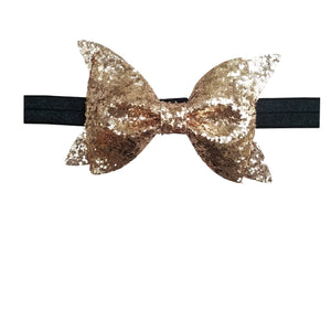 Gold Glitter Headband for Toddlers