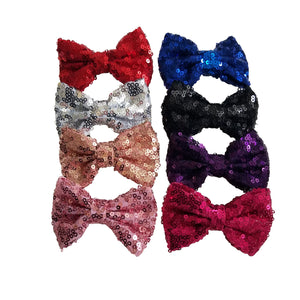 "3"" Sequin Hair Bows"