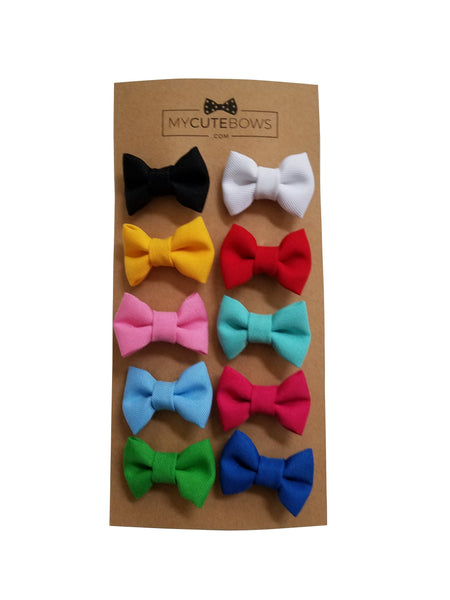 "1.5"" Inch Small Bow clip Universal"