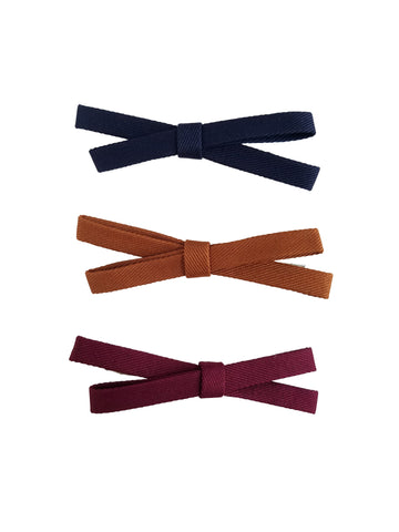 3 Pack Bow Knot Hair Clips