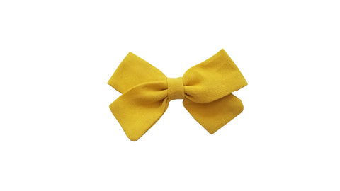 "3.5"" Naturals Pack of Hair Bow Clips"