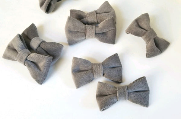 Velvet Pigtail Hair Bow pack