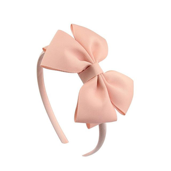 "4"" Grosgrain Bow Hair band"