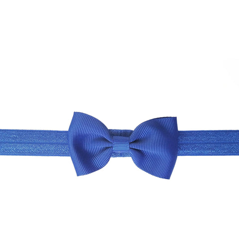 "2.5"", grosgrain, headband,royal blue,blue"