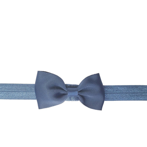 "2.5"", grosgrain, headband,navy blue, blue"