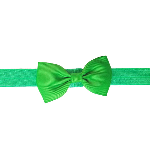 "2.5"", grosgrain, headband,kelly green, green"