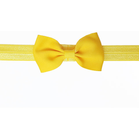 "2.5"", grosgrain, headband,yellow"