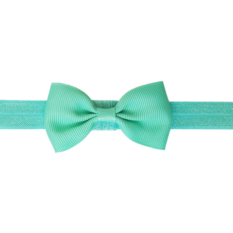 "2.5"", grosgrain, headband,Tiffany blue, blue"