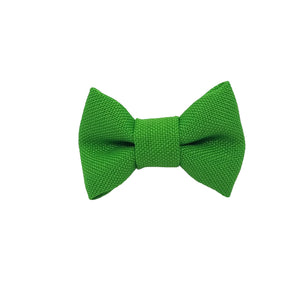 "Kelly Green 1.5"" Inch Small Bow clip Universal"